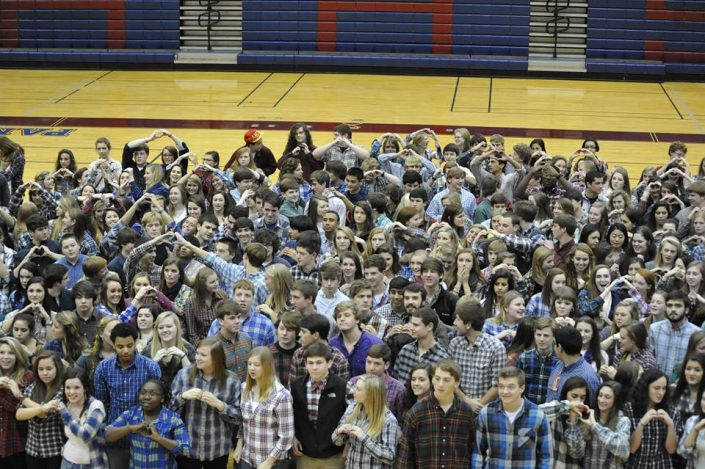 Huntsville High School - Plaid Memorial