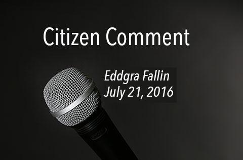 Eddgra Fallin - Citizen Comment