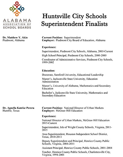 Alabama Association Of School Boards Superintendent Finder